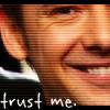 trust me, SMILE for the camera, trust saxon