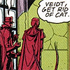 [WATCHMEN] Rorshach does not like cats