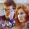 Larissa: like srsly - doctor/donna