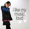 [stock photo] I like my music loud
