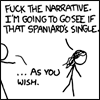 Silvie: [XKCD] Fuck your fairytales