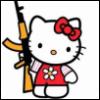 hello kitty w/gun