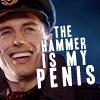 hammer is my penis