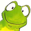 любопытная лягушка