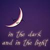 In het donker en in het licht