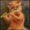 Кот-флейтист