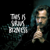Harry Potter; sirius bizness
