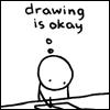 Drawing is okay.
