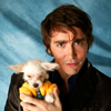 lee pace and dog.