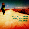 Blue: NF :: Not All Those Who Wander are Lost