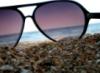 очки.море
