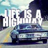 Alex: SPN - Life is a Highway