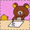 Rilakkuma Writing