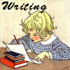 Chat Noir: writing child