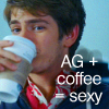 AG + coffee = SEXY