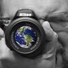 Earth in my camera