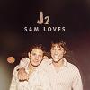 egotists: J2 → Sam loves