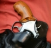 Ahrend grip in holster
