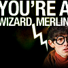 merlin!harry