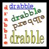 logo: drabble