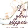 Le' glass slippers