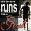 criminal minds reid runs like a girl
