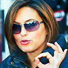 CATH: Mariska on the set