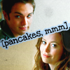 the plucky young girl who helps the Doctor: john/cameron - pancakes