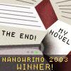 NaNoWriMo - 2003 Winner