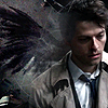 All the wine is all for me: Castiel wings by Shea