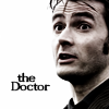 doctor who - the doctor b&w