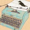 pecking away at my manuscript