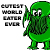 Cthulhu Cutest World Eater by jadeblood