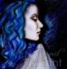 Blue Woman Oriental
