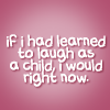 laugh as child