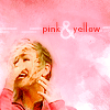 Alisha: Dr. Who (Rose) Pink and Yellow Glee