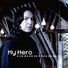 HP Snape My Hero