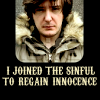 Joined the sinful to regain innocence