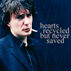 Hearts recycled but never saved