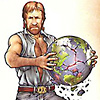 chuck norris crashes the world
