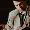 Campaspe: Supernatural \\ Castiel; reading