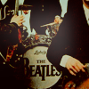 Beatles - logo on the drum