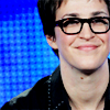Suzanne: Rachel Maddow Blue and Glasses
