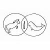 unicorn narwhal venn diagram