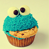 Cupcakes: Cookie monster!!