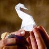 Applesauce Parker: paper crane