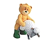 Lookie the cute widdle bear...