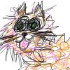 I drew this cat myself :D