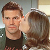 Inside Out and Upsidedown: Bones&Booth kiss on cheek!