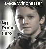a rearranger of the proverbial bookshelf: Dean - wee hero